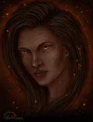 Darkness by Domitka