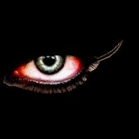 Ojo de vampiro derecho png by ByAbii