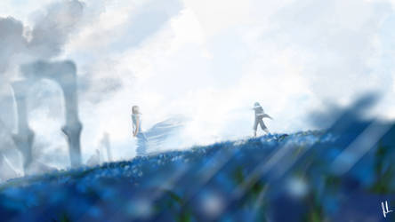 FFXV - Lunafreya And Noctis by joh1996