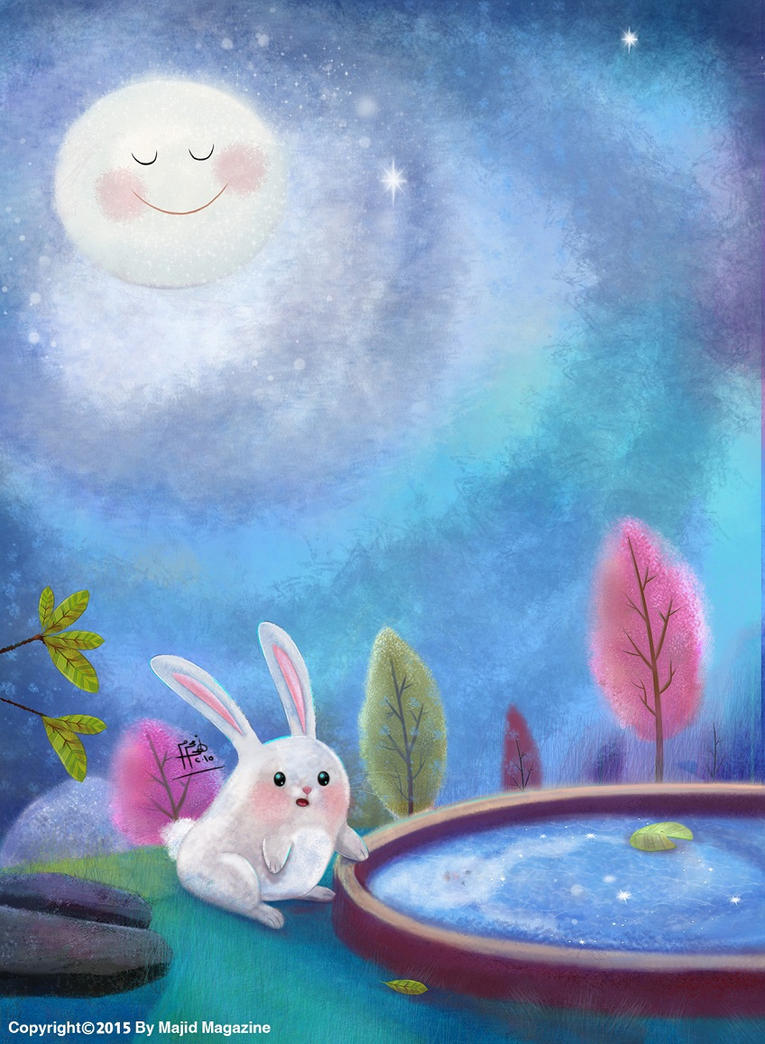 The Moon by nohamoharram
