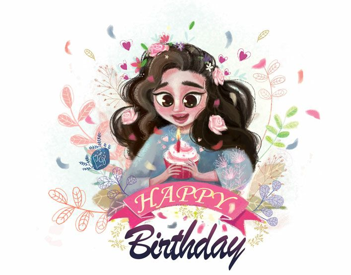 Birthday card by nohamoharram