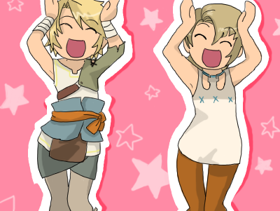 Kawaii Caramelldansen LoZ by Cookietotheminimum
