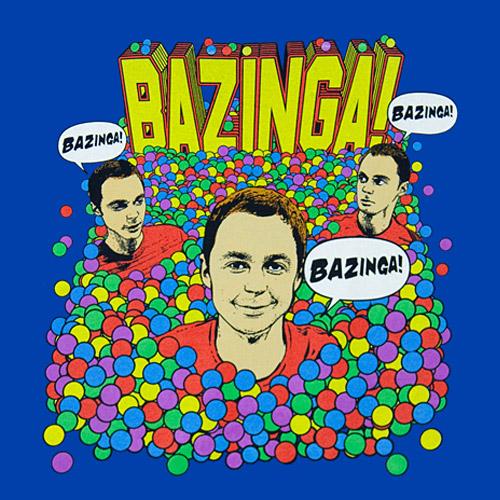Bazinga By Sheldon Cooper by Cookietotheminimum