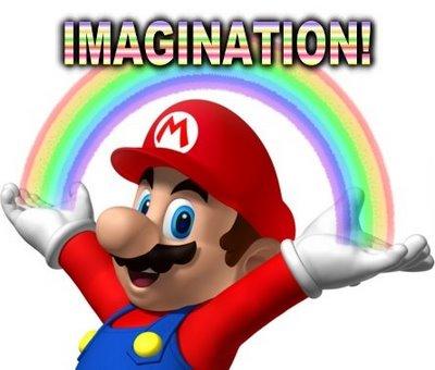 Rainbow Mario by Cookietotheminimum