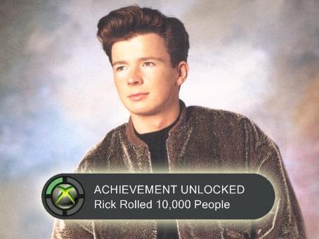 Rickroll Achievement by Cookietotheminimum