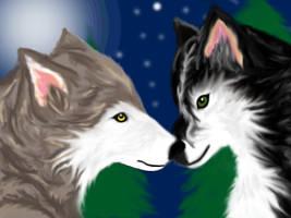 Wolves? by Kienova66