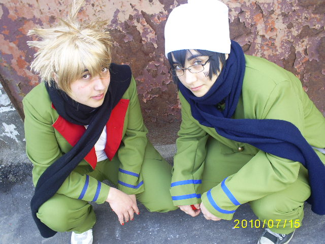 Cosplay Ken & Chikuza KHR__Street_by_jachy