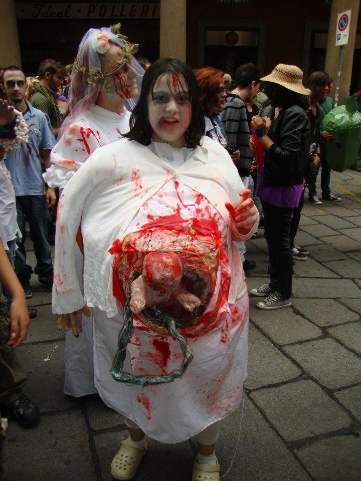 Pregnant Zombie WALK Costume by BottegadelCostume ...  sc 1 st  DeviantArt & Pregnant Zombie WALK Costume by BottegadelCostume on DeviantArt