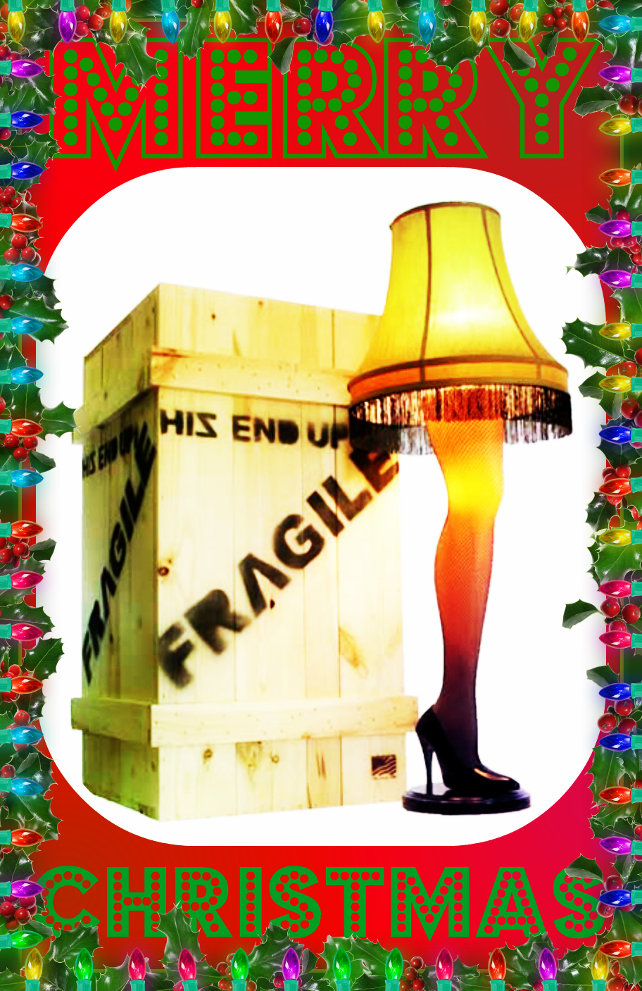 A Christmas Story Lamp Quotes Quotesgram