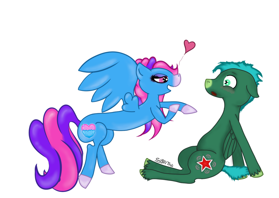I Don't want.. Anypony else... by SymzTew