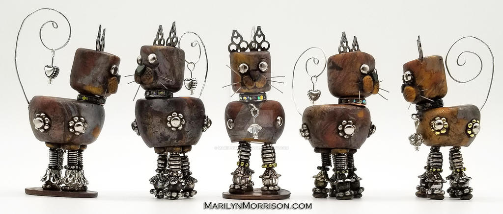 Robot Cats by MarilynMorrison