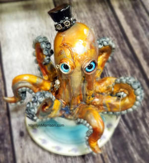 Octopus in teacup