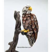 Polymer Clay Eagle