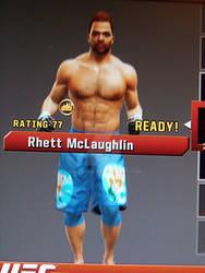 Rhett  In UFC 3!
