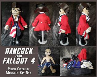 Custom Hancock Plush by NyxAtNight