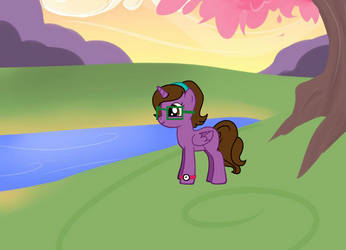 Me in pony form by The24thDoctor