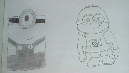 2 minions by The24thDoctor