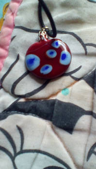 My glass pendant (front)