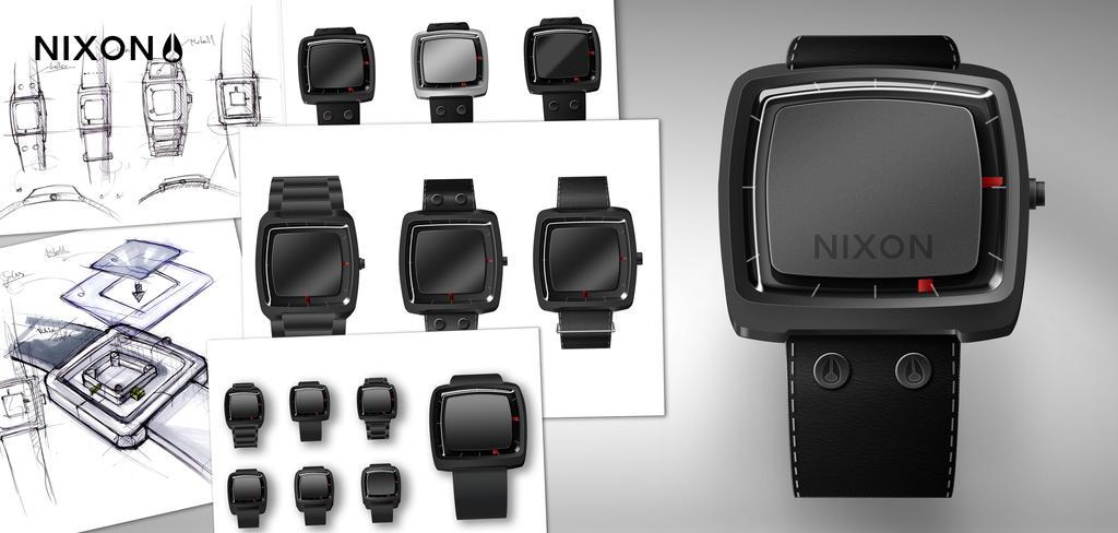 nixon wristband watch 2 by tobomat
