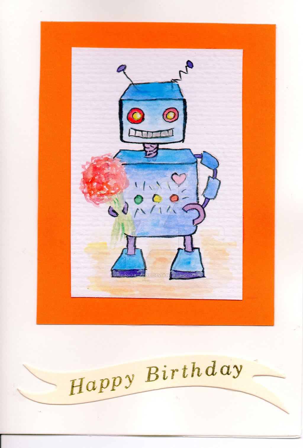 Birthday Robot #1 by UrbanJazzFox