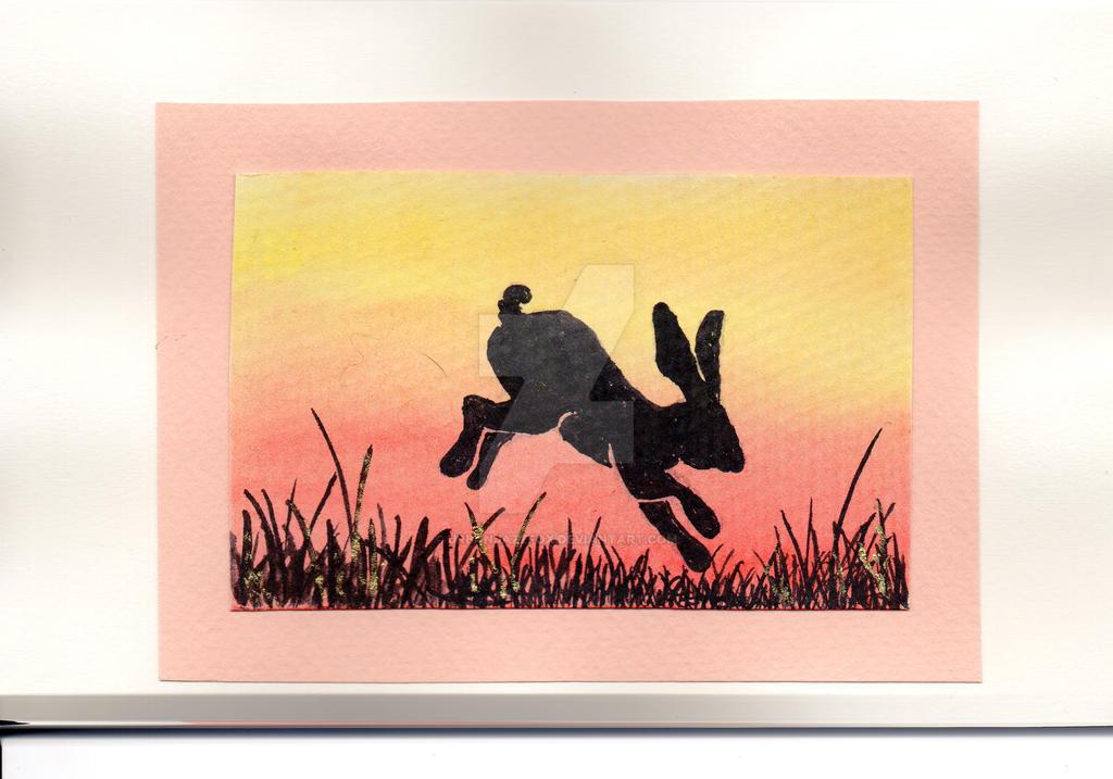 Spring Hare #2 by UrbanJazzFox