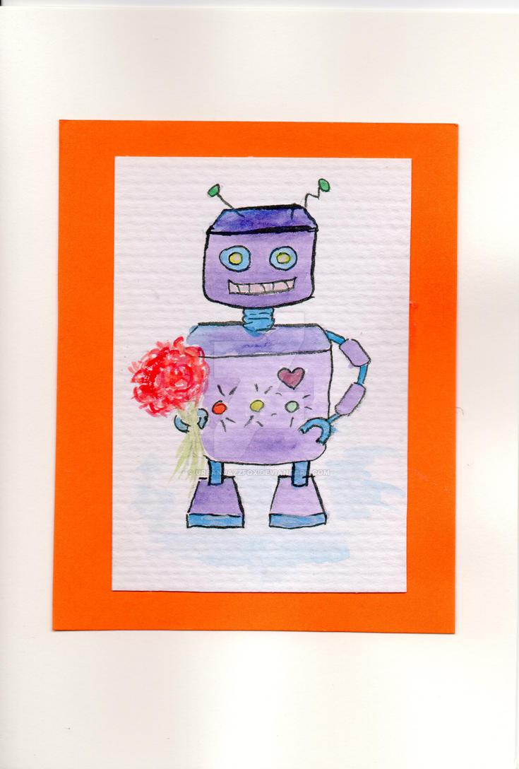 Robot by UrbanJazzFox