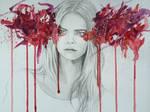 Regard de braise - Cara Delevingne - Watercolor