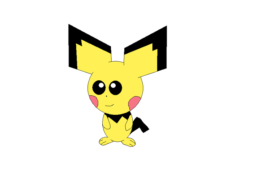 my first pichu drawing by TMan5636 on DeviantArt