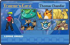 Pokemon LeafGreen Trainer Card by TMan5636