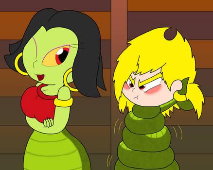 Lanita vs College Mandy