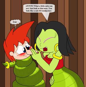 Lanita meets Phineas Redrawn
