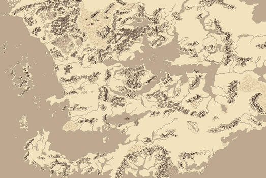 Map of Faerun [WIP]