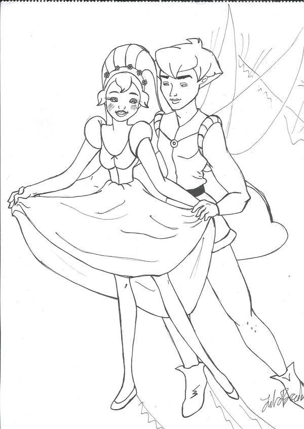 thumbelina 1994 coloring pages - photo#27