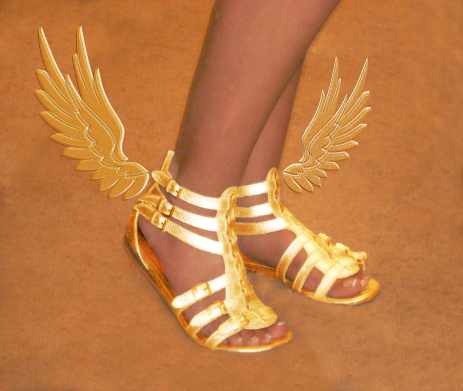 Winged Sandals Of Myth Picture Winged Sandals Of Myth Image