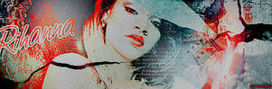 signature Rihanna 02 by LadyAmme