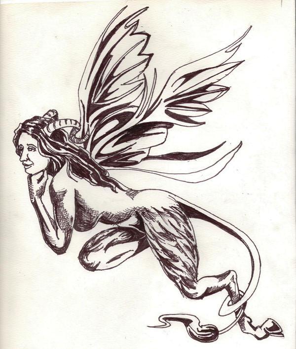 Egyptian Sphinx Tattoo Designs