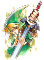 Zelda_Link by Ecthelian