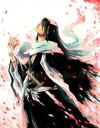Kuchiki Byakuya by Ecthelian