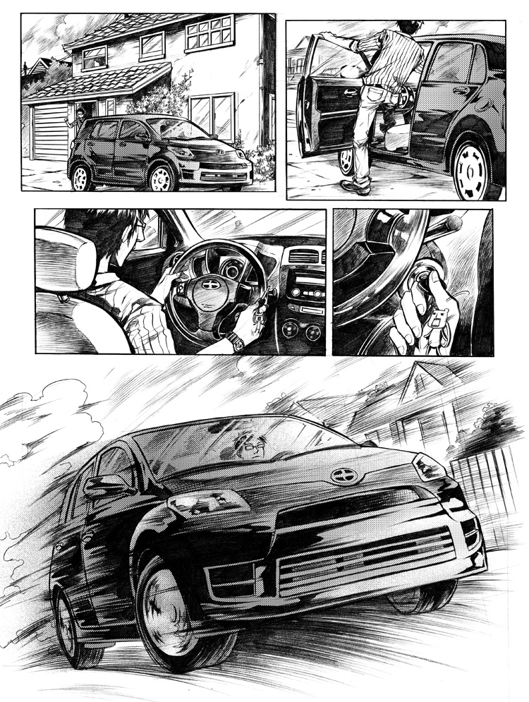 CAR TALE by Ecthelian