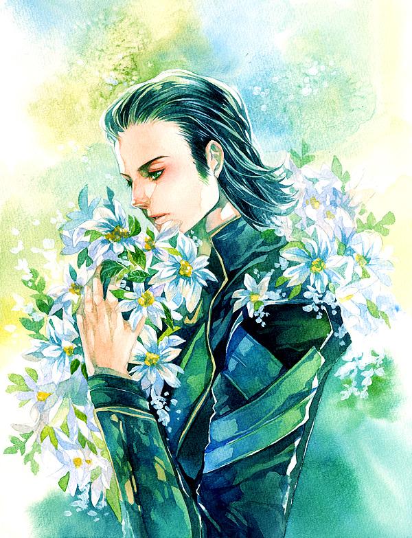 Spring :: Loki Laufeyson by Ecthelian