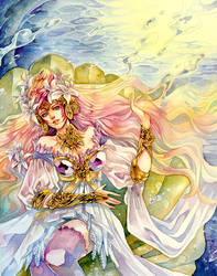 Aphrodite : Rise from the Ocean by Ecthelian