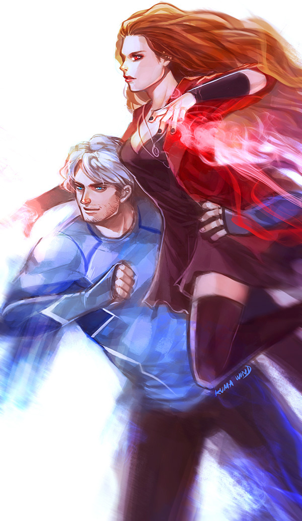 The Maximoff Twins by Ecthelian