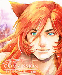 COMMISH : LEO by Ecthelian