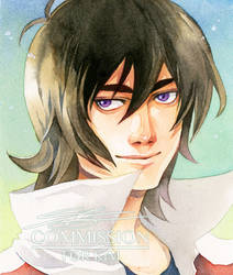 COMMISH : KEITH_VOLTRON by Ecthelian