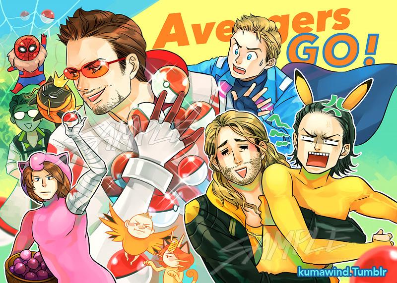 Avengers GO!