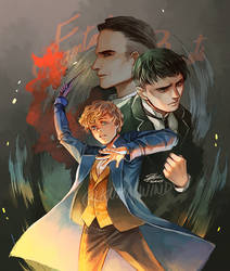 Fantastic Beasts by Ecthelian