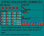 Sonic Unleashed Gimmicks