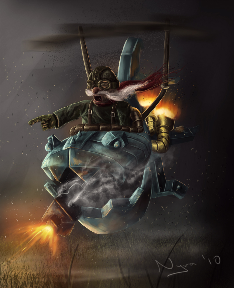 Corki - The Daring Bombardier by Nyra119