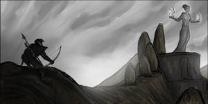 Morrowind Sketch Series #23: By Azura...