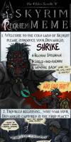 Skyrim Meme - Shrike's Requiem